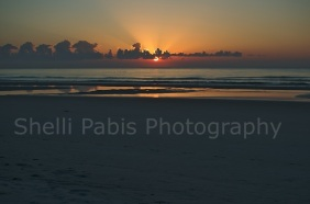 sunrise over Amelia Island, FL